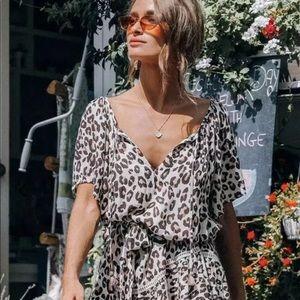 Spell & The Gypsy Bodhi Leopard Dress